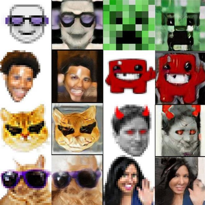 Trí tuệ nhân tạo đã học được cách biến những biểu tượng cảm xúc emoji thành những khuôn mặt kỳ dị đến phát sợ - Ảnh 3.