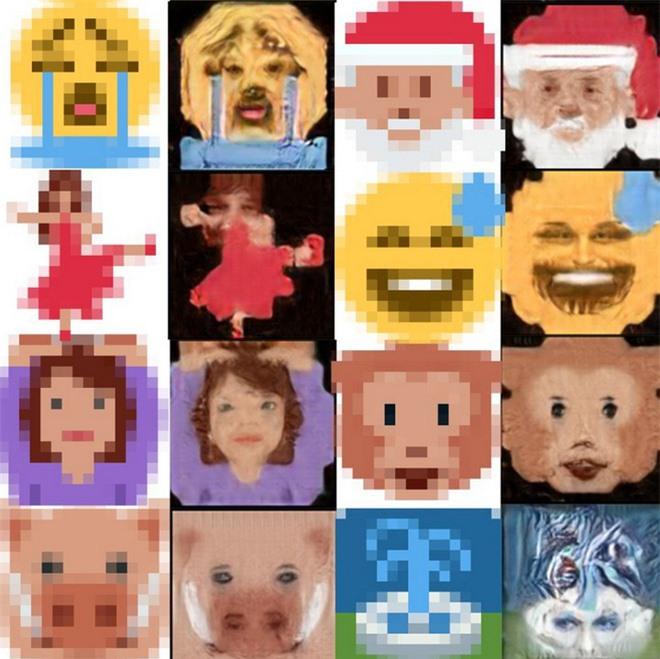 Trí tuệ nhân tạo đã học được cách biến những biểu tượng cảm xúc emoji thành những khuôn mặt kỳ dị đến phát sợ - Ảnh 4.