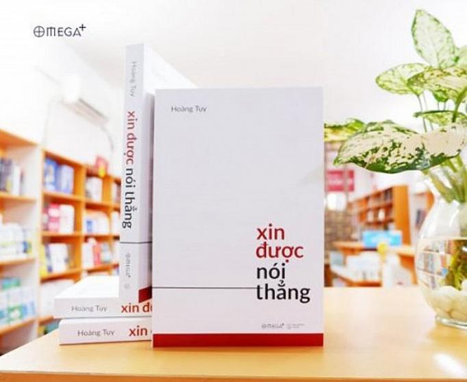 """Cuốn sách """"Xin được nói thẳng"""" của GS. Hoàng Tụy."""