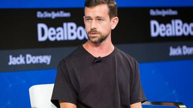 Jack Dorsey, CEO của mạng xã hội Twitter. Ảnh. Getty Images.