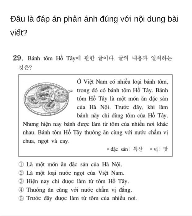 Thử sức với đề thi Tiếng Việt tại kỳ thi Đại học Hàn Quốc 2019: Nhiều câu hóc búa đánh lừa cả người Việt - Ảnh 13.