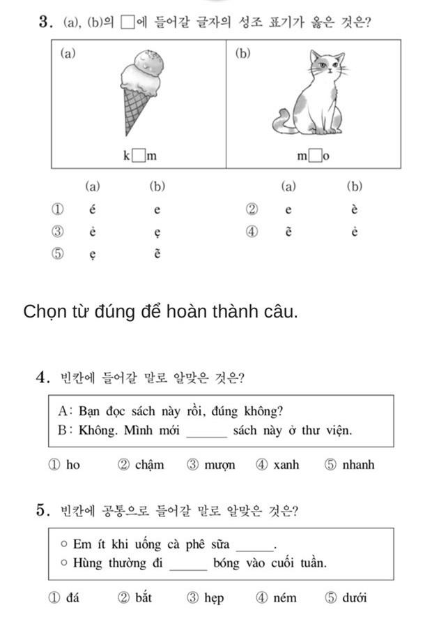Thử sức với đề thi Tiếng Việt tại kỳ thi Đại học Hàn Quốc 2019: Nhiều câu hóc búa đánh lừa cả người Việt - Ảnh 2.