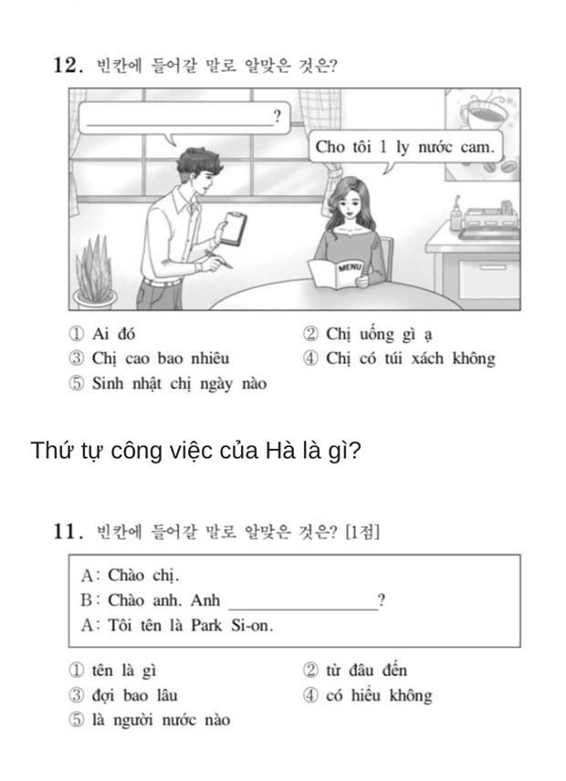 Thử sức với đề thi Tiếng Việt tại kỳ thi Đại học Hàn Quốc 2019: Nhiều câu hóc búa đánh lừa cả người Việt - Ảnh 5.