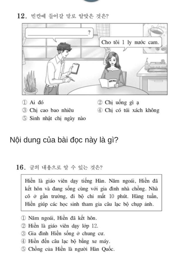 Thử sức với đề thi Tiếng Việt tại kỳ thi Đại học Hàn Quốc 2019: Nhiều câu hóc búa đánh lừa cả người Việt - Ảnh 6.