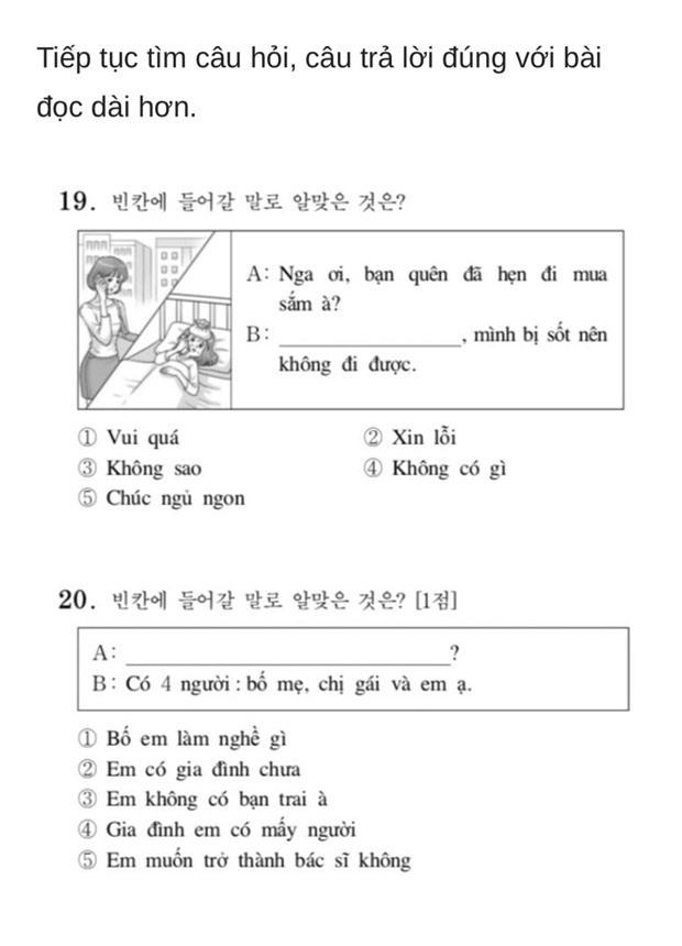 Thử sức với đề thi Tiếng Việt tại kỳ thi Đại học Hàn Quốc 2019: Nhiều câu hóc búa đánh lừa cả người Việt - Ảnh 8.