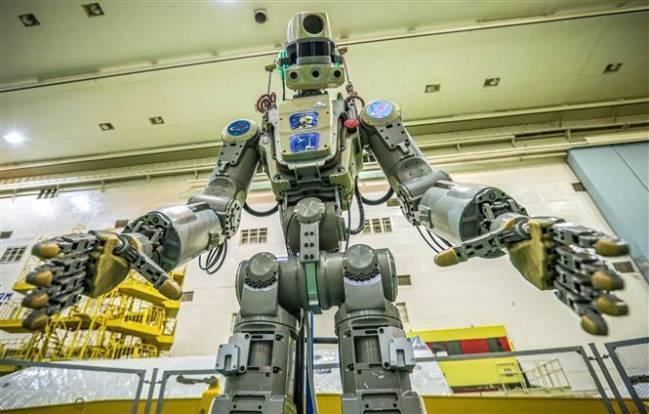 Robot Fedor - Ảnh: TASS