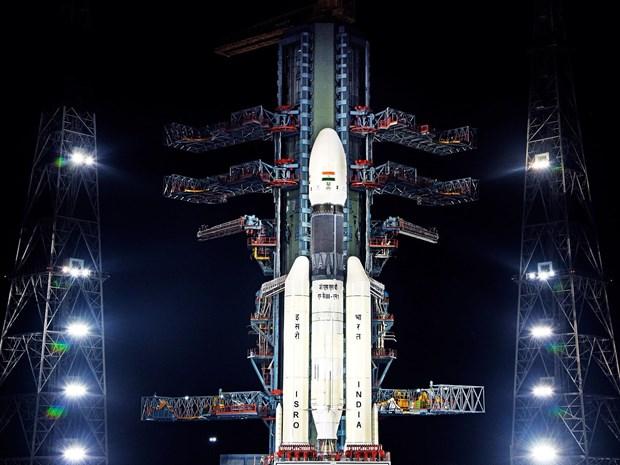 Tàu vũ trụ Chandrayaan-2 của Ấn Độ. (Ảnh: ISRO)