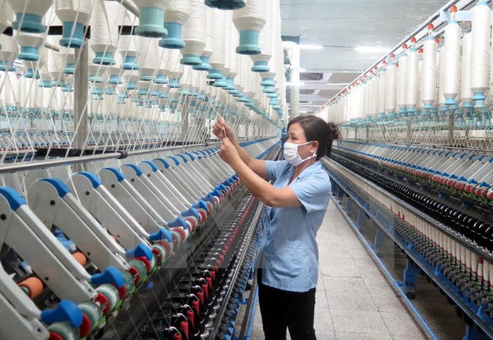 Nhà máy sợi Phong Phú. Ảnh: TTXVN
