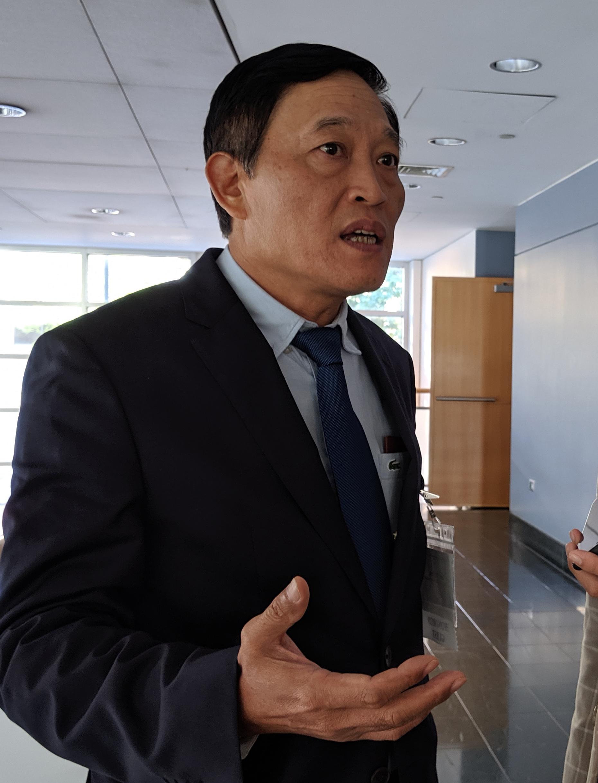 Thứ trưởng Bộ Khoa học và Công nghệ Trần Văn Tùng. Ảnh: KH&PT
