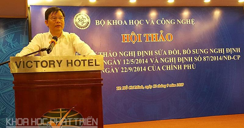 Ông Trần Văn Nghĩa - Vụ trưởng Vụ Tổ chức cán bộ, Bộ KH&CN