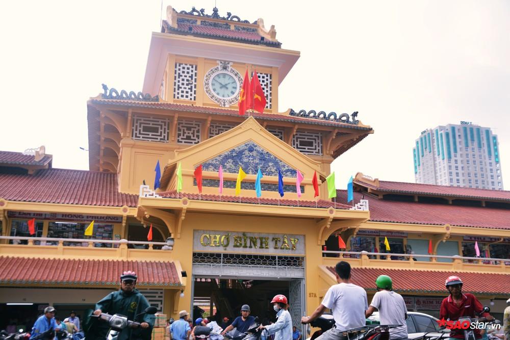 Chợ Bình Tây, TP HCM.