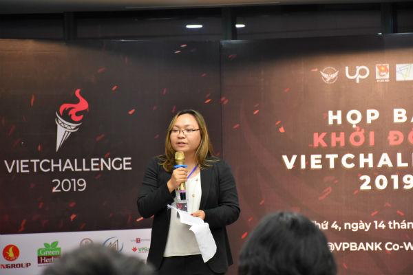 Mai Phan, chủ tịch hội thanh niên sinh viên Việt Nam tại Mỹ, trưởng ban tổ chức VietChallenge.