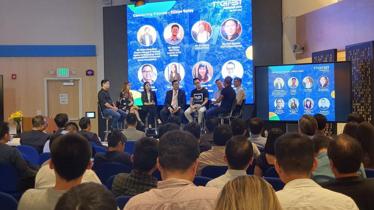Trao đổi của các đại diện hệ sinh thái khởi nghiệp Việt Nam và Hoa Kỳ | Ảnh: BTC