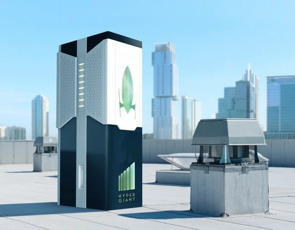 Mẫu concept của Eos Bioreactor. Ảnh: Hypergiant Industries.