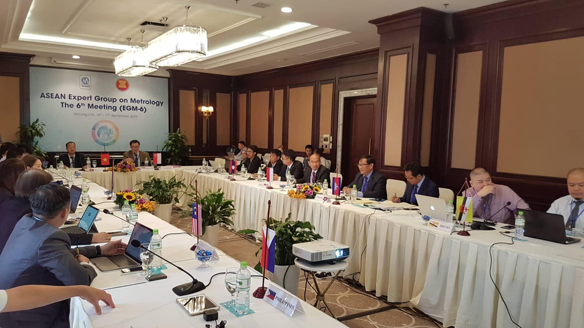 Hội thảo nhóm chuyên gia về đo lường khu vực ASEAN lần thứ 6. Ảnh: Doãn Trung