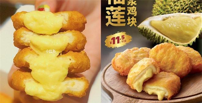 Gà rán không xương nhân sầu riêng tan chảy, món ăn chỉ có thể được tìm thấy tại Trung Quốc - Ảnh 3.