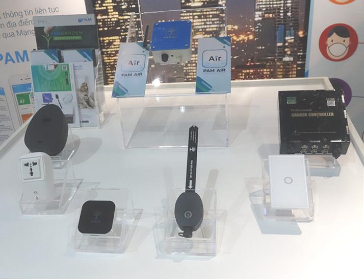 Hệ sinh thái sản phẩm dựa trên nền tảng IoT PAM ecosystem. Các sản phẩm IoT PAM ecosystem hiện đang được trưng bày tại IoT Innovation Hub
