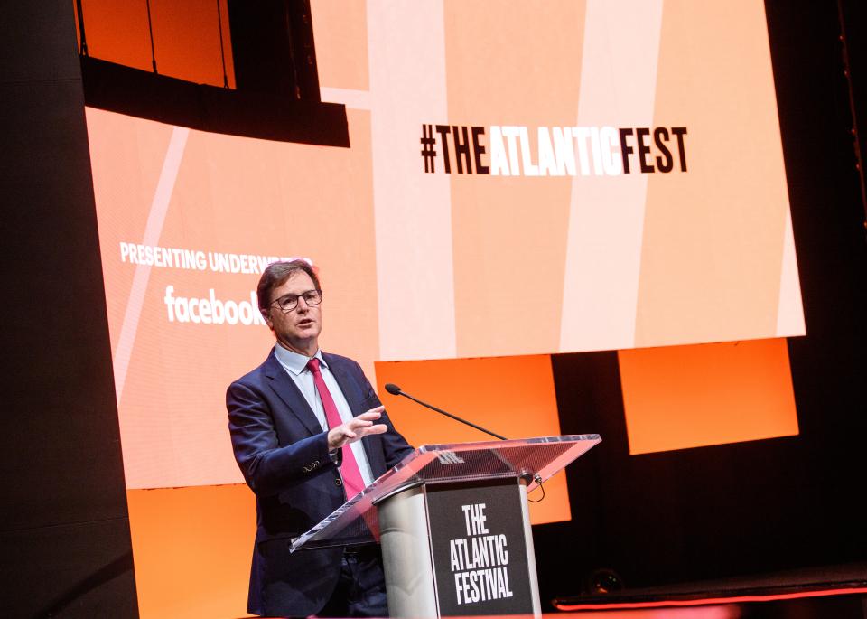 Ông Nick Clegg, phó chủ tịch phụ trách các vấn đề toàn cầu và truyền thông của Facebook