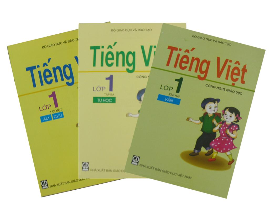Sách giáo khoa Tiếng Việt lớp 1 Công nghệ giáo dục.