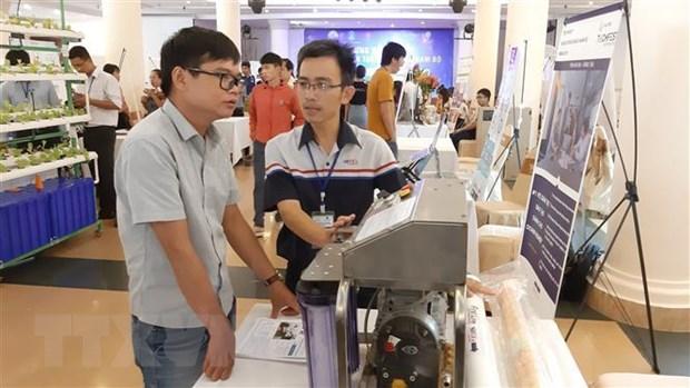 Nhiều sản phẩm công nghệ mới được trưng bày tại Techfest vùng Đông Nam Bộ.