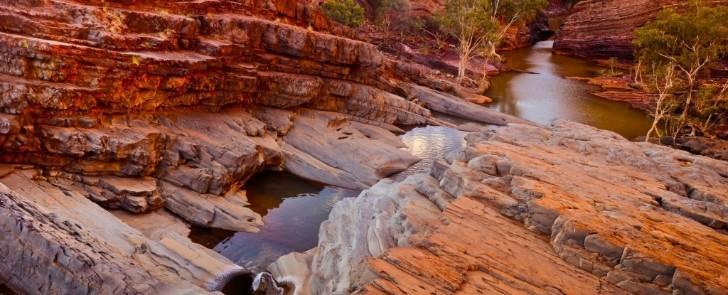 Mảng đá cổ xưa ở Pilbara, Úc - Ảnh: iStock