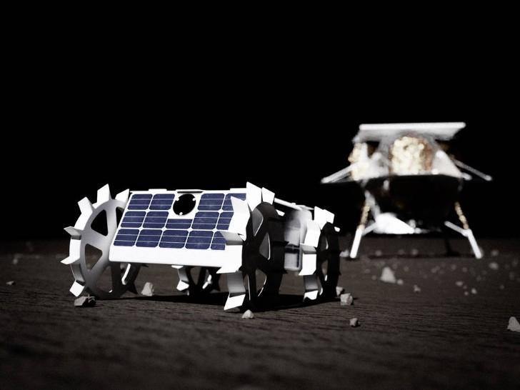 Hình ảnh CubeRover thuộc công nghệ vũ trụ tương lai - Ảnh : Đại học Carnegie Mellon
