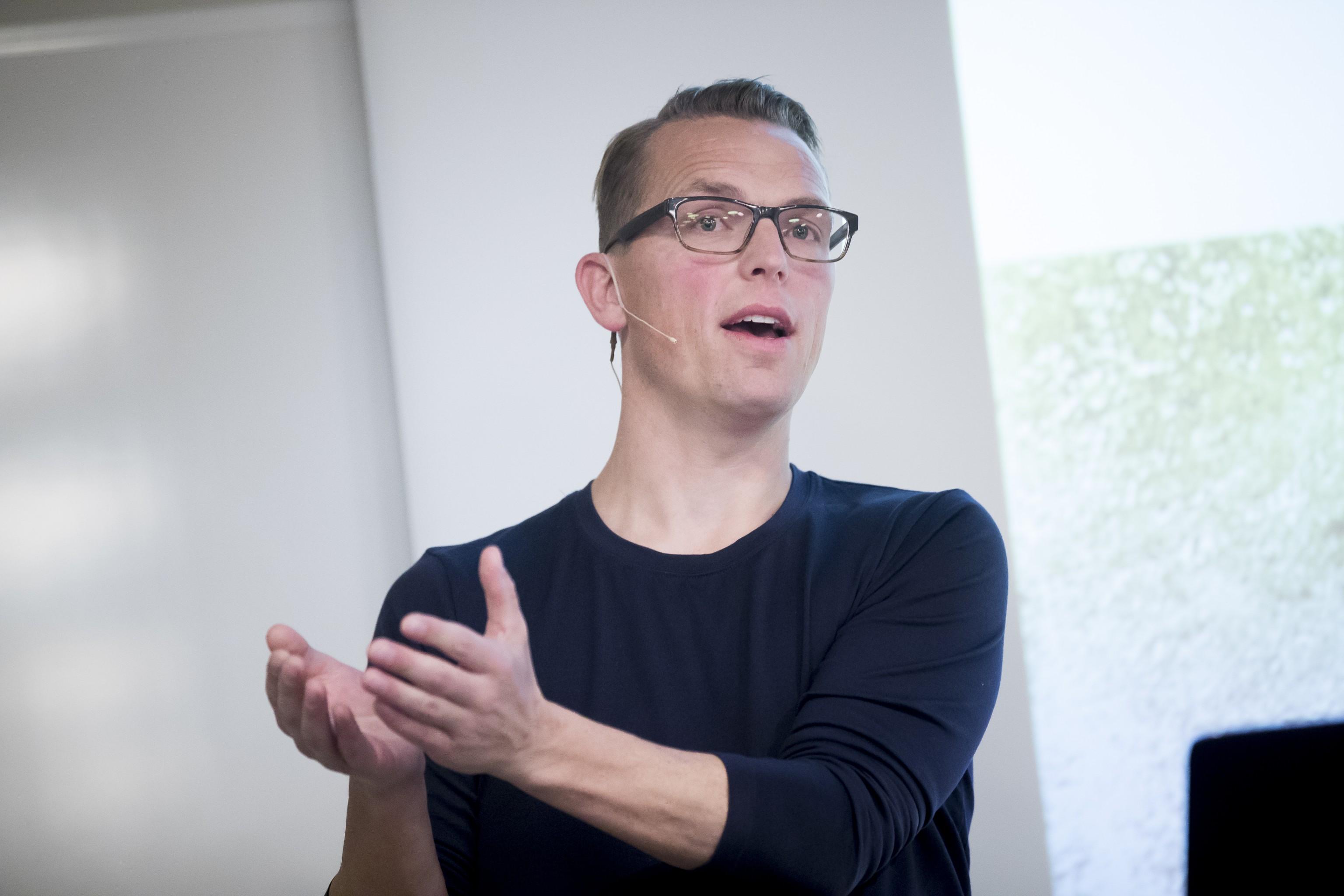 Ông Henrik Uth, Giám đốc điều hành Engredo APS. Ảnh: ASC Aqua.