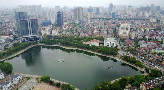 Thời gian gần đây, Hà Nội nhận được nhiều sự quan tâm về chất lượng không khí. Ảnh: Công Hùng/HNT