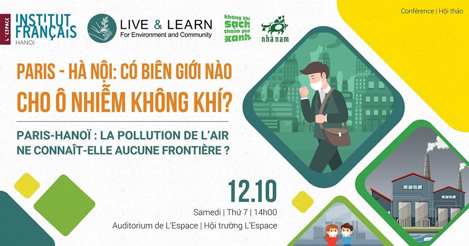 """ọa đàm: """"Paris - Hà Nội: Có biên giới nào cho ô nhiễm không khí?"""""""
