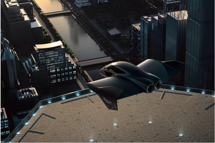 Porche và Boeing hợp tác chế tạo xe bay