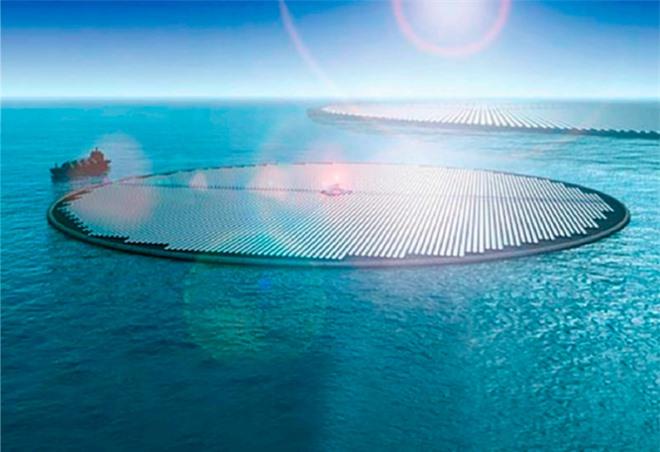 Lại thêm công nghệ 3-trong-1 mới: đảo năng lượng Mặt Trời sẽ vừa hút CO2 trong nước biển, vừa tạo ra methanol để làm nhiên liệu - Ảnh 2.