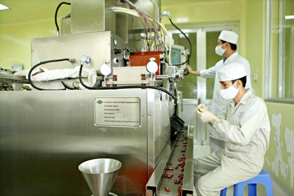 Traphaco là một trong những công ty có nhiều hoạt động đổi mới sáng tạo về sản phẩm và dây chuyền sản xuất. Nguồn: traphaco.vn
