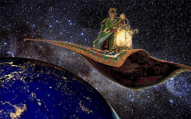 Đi tìm nguồn gốc sự thật về tấm thảm bay kỳ diệu trong truyện cổ tích phương Đông - Ảnh 3.