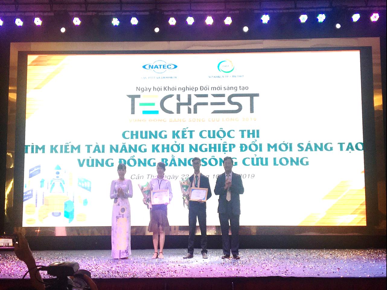 5 dự án sản xuất, chế biến nông - ngư nghiệp chiến thắng tại Techfest Mekong 2019