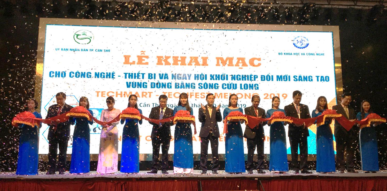 Khai mạc Techmart – Techfest Mekong 2019 | Ảnh: BTC