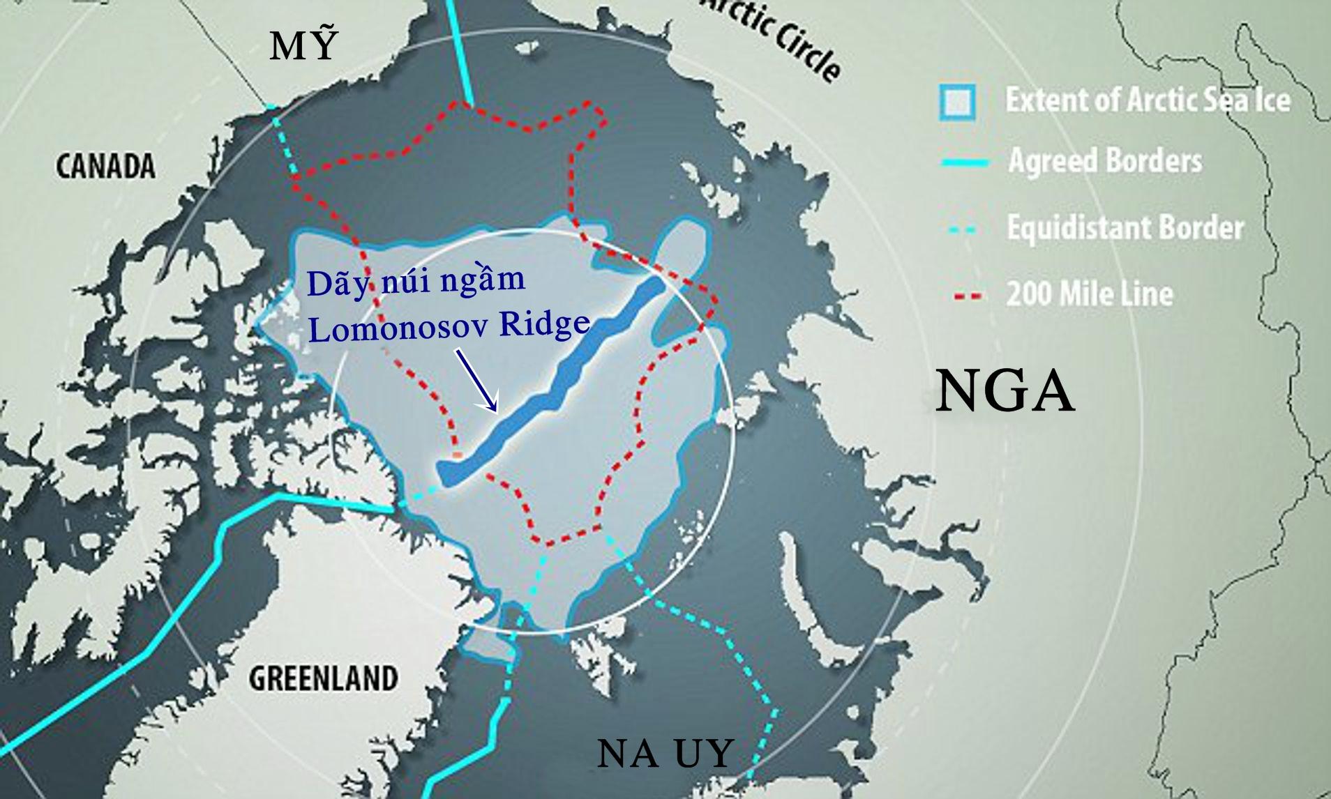 Khu vực biển Bắc Cực. Ảnh: Alamy.