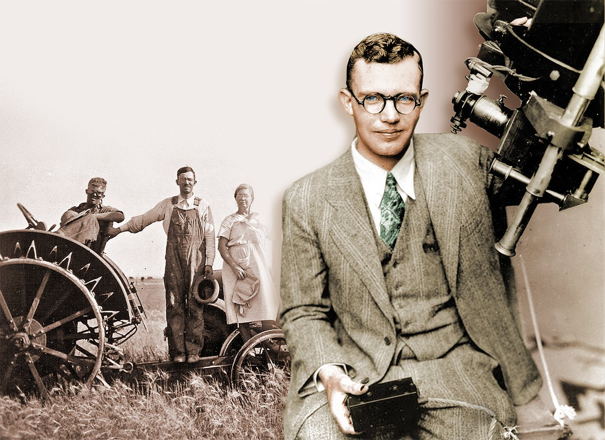 Clyde Tombaugh. Ảnh: History.
