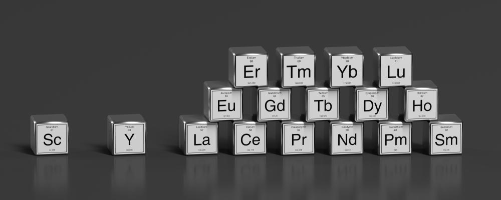 17 nguyên tố có trong đất hiếm. Ảnh: FoxPictures/Shutterstock.com.