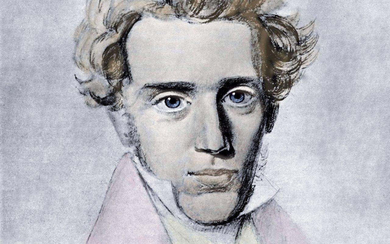 Triết gia người Đan Mạch Søren Kierkegaard (1813 – 1855)