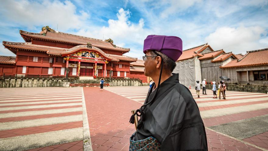 Thành cổ Shuri là biểu tượng quan trọng nhất của văn hóa Okinawa - Lưu Cầu (Ảnh: Tokyo Creative)