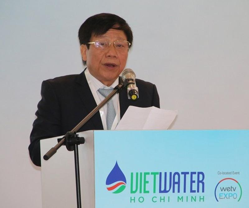 Ông Cao Lại Quang, Chủ tịch Hội Cấp thoát nước Việt Nam    Ảnh: KTĐT