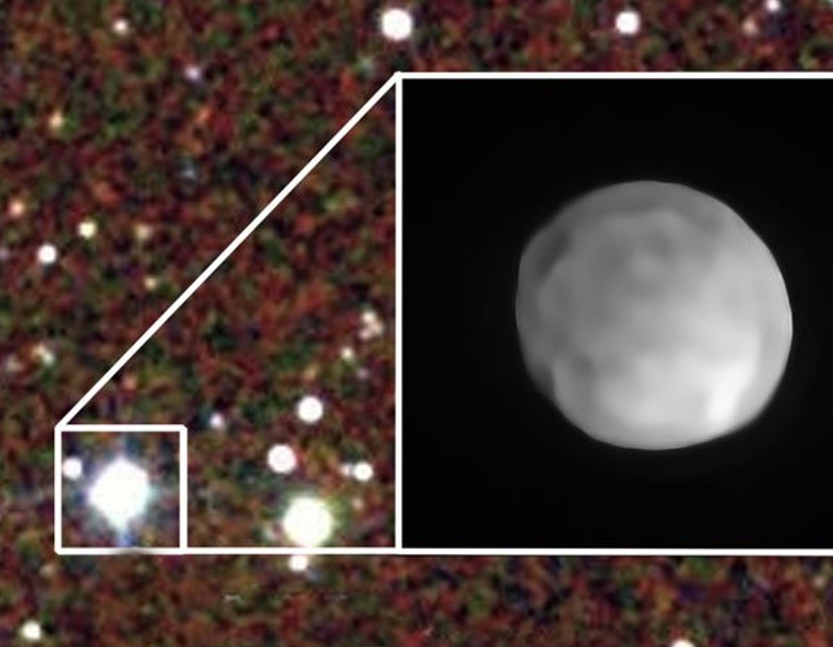 Tiểu hành tinh Hygiea. Ảnh: ESO.