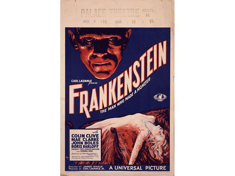 Poster phim Frankenstein. Ảnh: Universal Studios Licensing LLC.