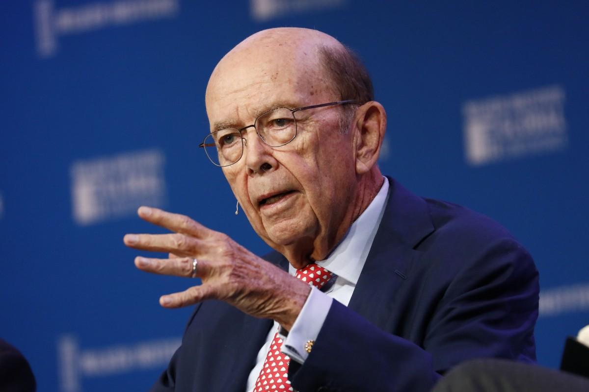 Wilbur Ross, Bộ trưởng Thương mại Mỹ. Ảnh: Bloomberg.