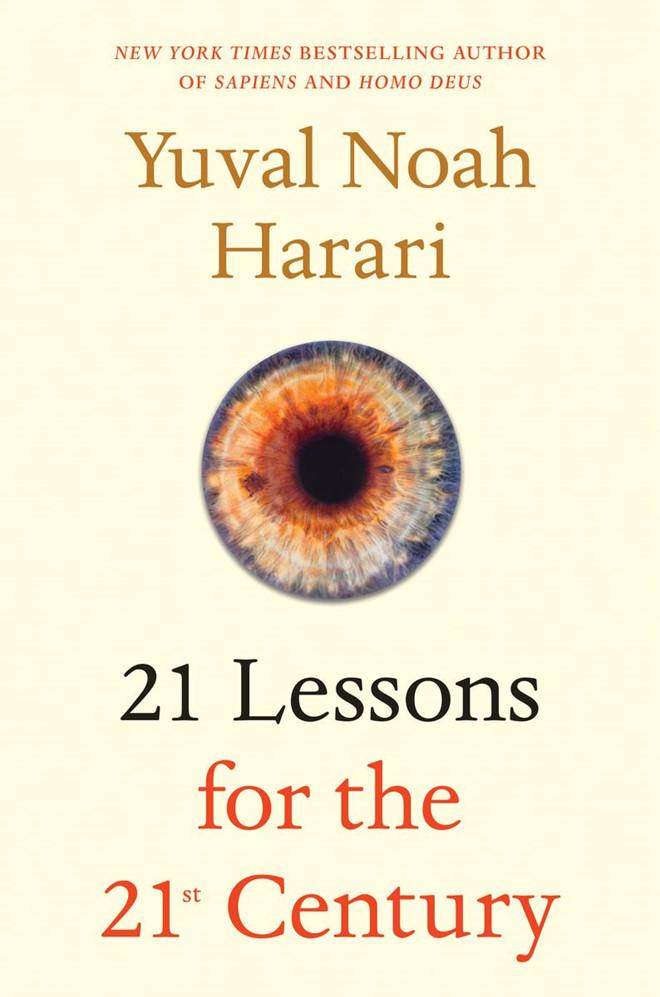 cuốn sách mới nhất: 21 bài học cho thế kỷ 21.