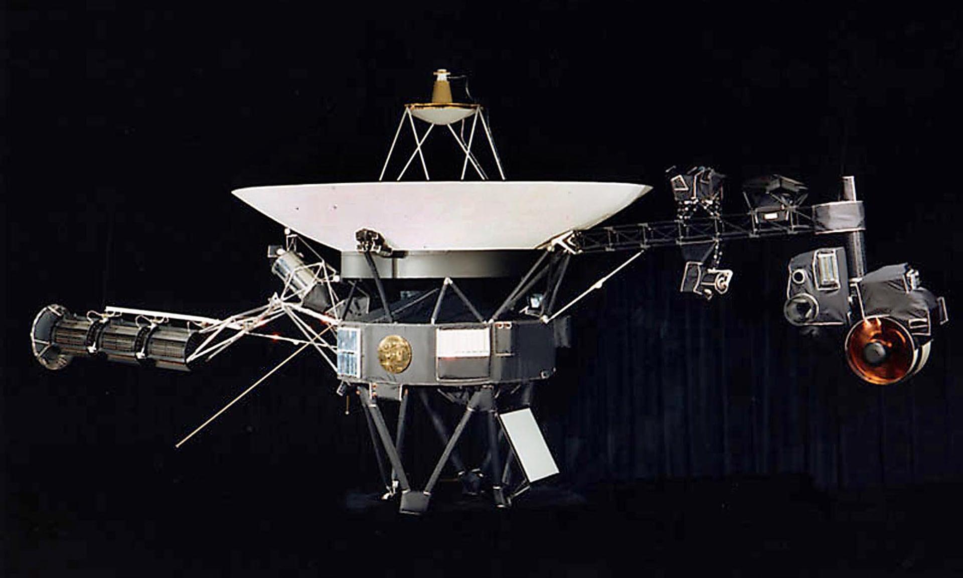 Mô hình của tàu vũ trụ Voyager. Ảnh: Nasa/AFP via Getty Images.