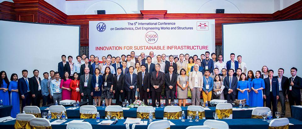 Hội thảo quốc tế về Địa kỹ thuật – Công trình – Kết cấu (CIGOS 2019)