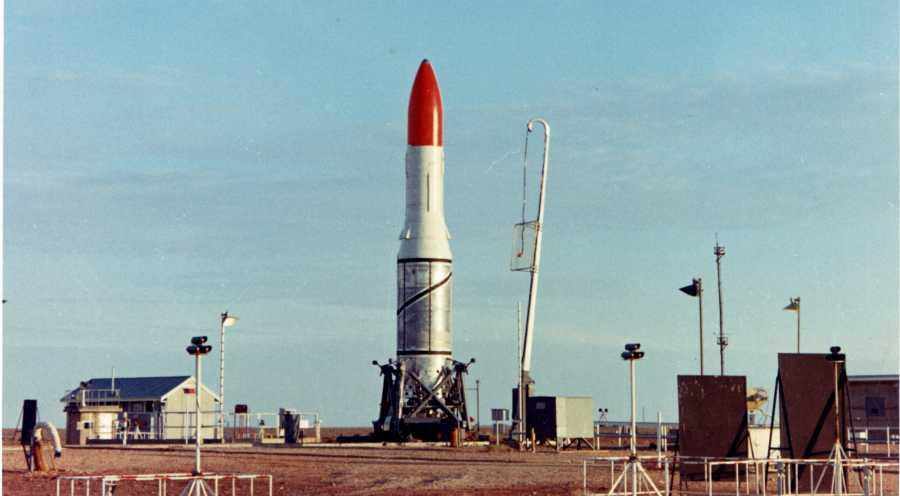 Hình chụp tên lửa Black Arrow của Anh. Ảnh: Wikimedia