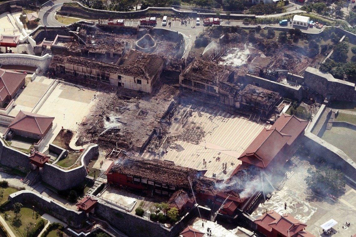 Không ảnh chụp hiện trường vụ cháy vào chiều ngày 31/10, sau khi đám cháy đã được dập tắt. Nguồn: UDN.