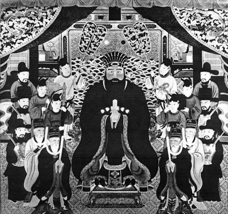 Chân dung vua Shō En (1415–1476), vua đầu tiên của triều Hậu Shō (1470-1879). Quan hệ với Trung Quốc thời Minh là một trong những yếu tố khiến Lưu Cầu từng có một vai trò quan trọng trong thương mại khu vực thời trung đại. Nguồn: Wikipedia.